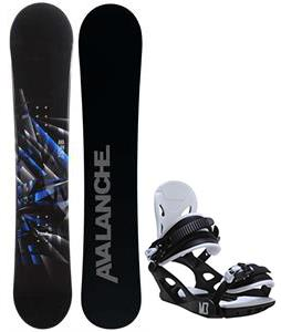 Avalanche Source Snowboard w/ M3 Helix 3 Bindings