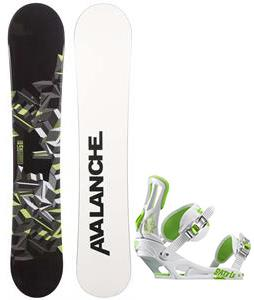 Avalanche Source Snowboard w/ Rossignol Battle Bindings
