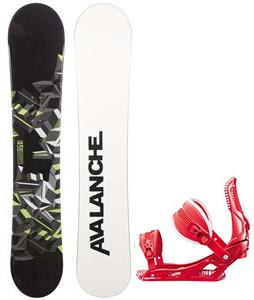 Avalanche Source Snowboard w/ Rossignol Cage Bindings