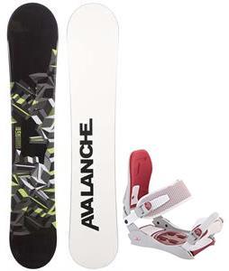 Avalanche Source Snowboard w/ Technine JV Bindings
