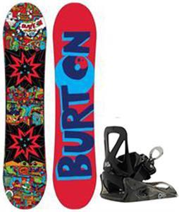 Burton Chopper Blem Snowboard w/ Burton Grom Bindings