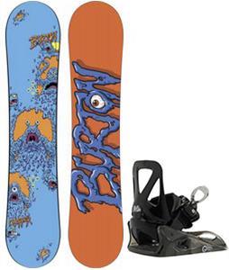 Burton Chopper Snowboard w/ Burton Grom Bindings