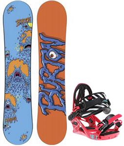 Burton Chopper Snowboard w/ K2 Kat Bindings