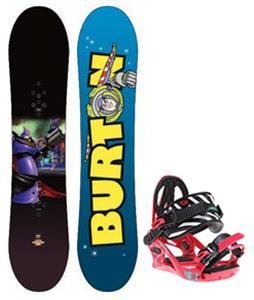 Burton Chopper Toy Story Snowboard w/ K2 Kat Bindings