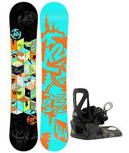 K2 Mini Turbo Snowboard w/ Burton Grom Bindings