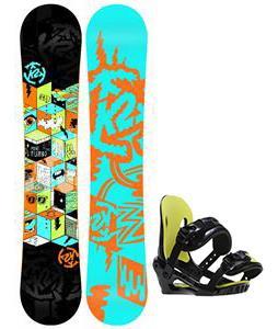 K2 Mini Turbo Snowboard w/ Morrow Axiom Jr Bindings
