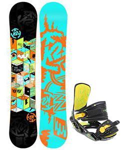K2 Mini Turbo Snowboard w/ Rossignol Rookie Bindings