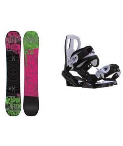 K2 WWW Rocker Snowboard w/ Sapient Zeus Jr Bindings