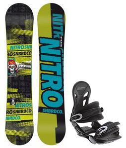 Nitro Ripper Snowboard w/ Avalanche Summit Bindings