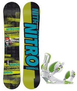 Nitro Ripper Snowboard w/ Rossignol Battle Bindings