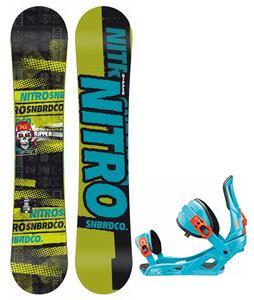 Nitro Ripper Snowboard w/ Rossignol Cage Bindings