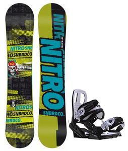Nitro Ripper Snowboard w/ Sapient Zeus Jr Bindings