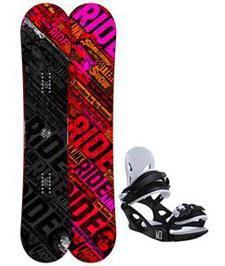 Ride Kink Snowboard w/ M3 Helix 3 Bindings
