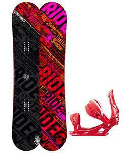 Ride Kink Snowboard w/ Rossignol Cage Bindings