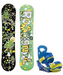 Rossignol Scan Amptek Snowboard w/ Burton Mission Smalls Bindings