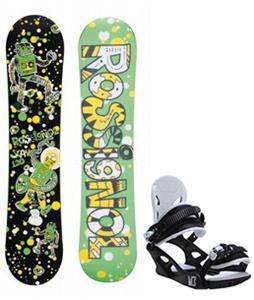 Rossignol Scan Amptek Snowboard w/ M3 Helix 3 Bindings