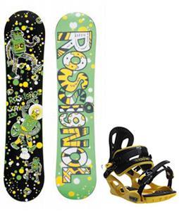 Rossignol Scan Amptek Snowboard w/ M3 Pivot Rockstar Bindings