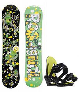 Rossignol Scan Amptek Snowboard w/ Morrow Axiom Jr Bindings