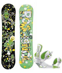 Rossignol Scan Amptek Snowboard w/ Rossignol Battle Bindings
