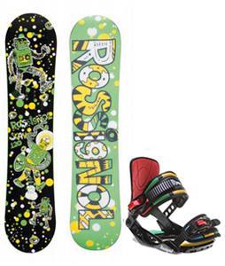 Rossignol Scan Amptek Snowboard w/ Rossignol Rookie Bindings