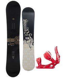 Rossignol Sultan Snowboard w/ Rossignol Cage Bindings