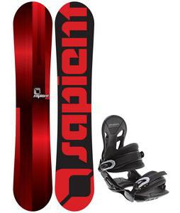 Sapient Fader Snowboard w/ Avalanche Summit Bindings