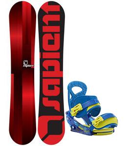 Sapient Fader Snowboard w/ Burton Mission Smalls Bindings