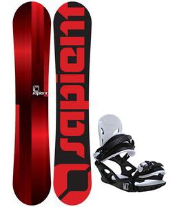 Sapient Fader Snowboard w/ M3 Helix 3 Bindings