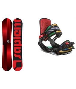 Sapient Fader Snowboard w/ Rossignol Rookie Bindings