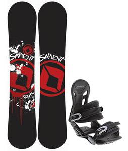Sapient Rival Snowboard w/ Avalanche Summit Bindings