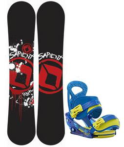 Sapient Rival Snowboard w/ Burton Mission Smalls Bindings