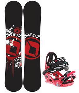 Sapient Rival Snowboard w/ K2 Kat Bindings