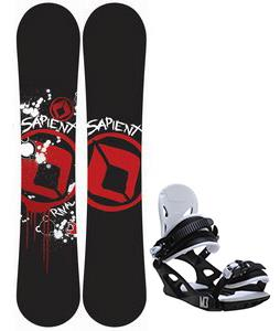 Sapient Rival Snowboard w/ M3 Helix 3 Bindings