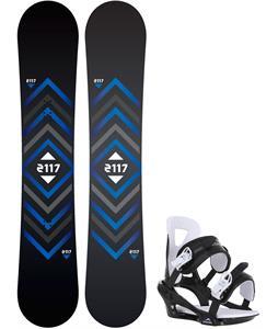 2117 Berg Snowboard w/ Chamonix Savoy Bindings
