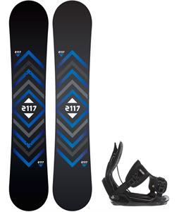 2117 Berg Snowboard w/ Flow Alpha Bindings