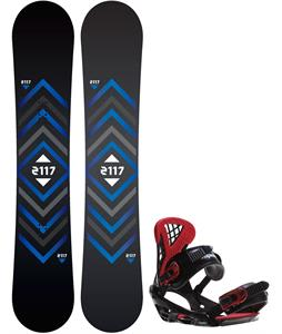 2117 Berg Snowboard w/ Sapient Wisdom Bindings