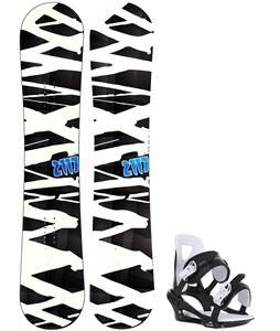 2117 Hintertux Snowboard w/ Chamonix Savoy Bindings