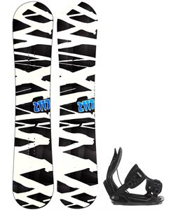 2117 Hintertux Snowboard w/ Flow Alpha Bindings
