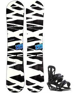 2117 Hintertux Snowboard w/ Rome United Bindings