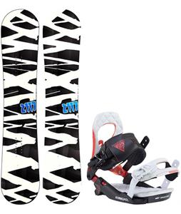 2117 Hintertux Snowboard w/ Rossignol Cobra V2 Bindings 2017