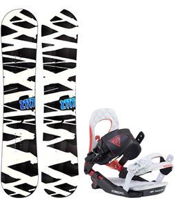 2117 Hintertux Snowboard w/ Rossignol Cobra V2 Bindings 2017