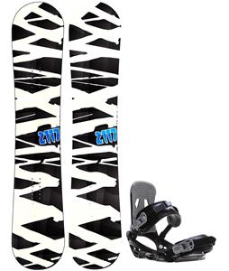 2117 Hintertux Snowboard w/ Sapient Stash Bindings