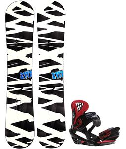 2117 Hintertux Snowboard w/ Sapient Wisdom Bindings