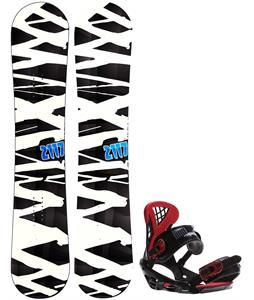 2117 Hintertux Snowboard w/ Sapient Wisdom Bindings