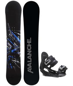 Avalanche Source Snowboard w/ Avalanche Summit Bindings