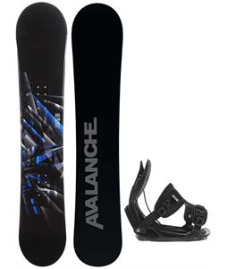 Avalanche Source Snowboard w/ Flow Alpha Bindings