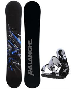 Avalanche Source Snowboard w/ Flow Five Bindings