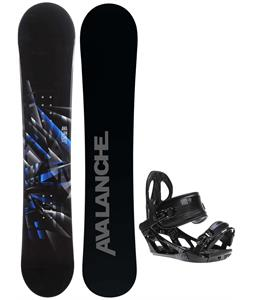 Avalanche Source Snowboard w/ K2 Sonic Bindings