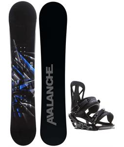 Avalanche Source Snowboard w/ Rome United Bindings