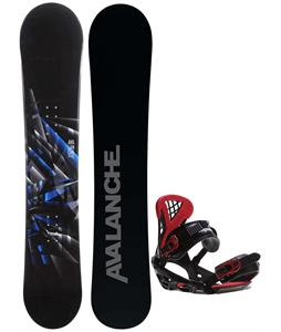 Avalanche Source Snowboard w/ Sapient Wisdom Bindings